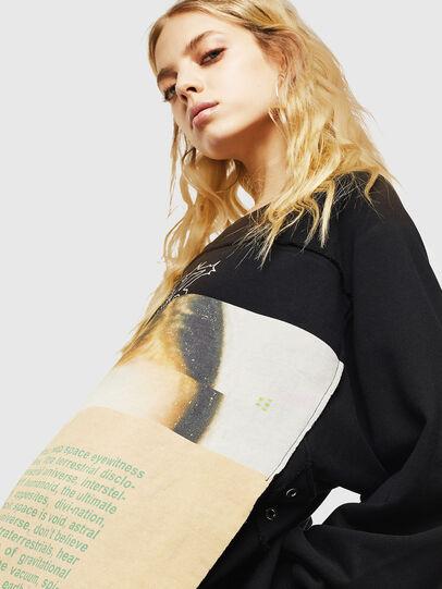 Diesel - F-EYET-A, Black - Sweaters - Image 3