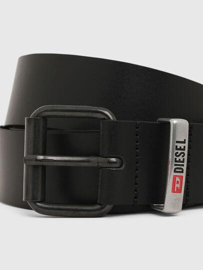 Diesel - B-VITO, Black - Belts - Image 2