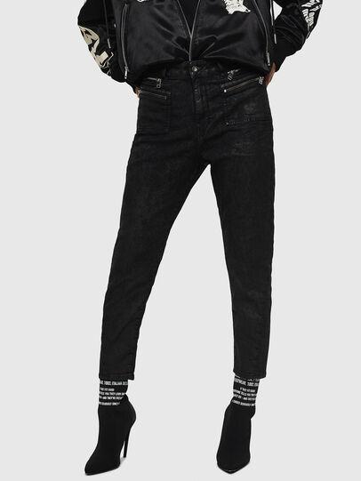 Diesel - D-Eifault JoggJeans 084AG, Black/Dark grey - Jeans - Image 1