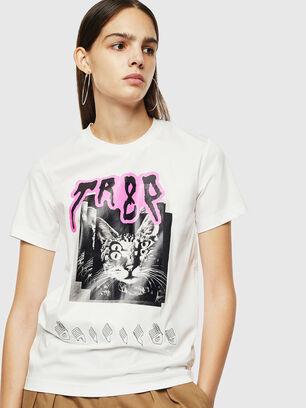 T-SILY-YC, White - T-Shirts