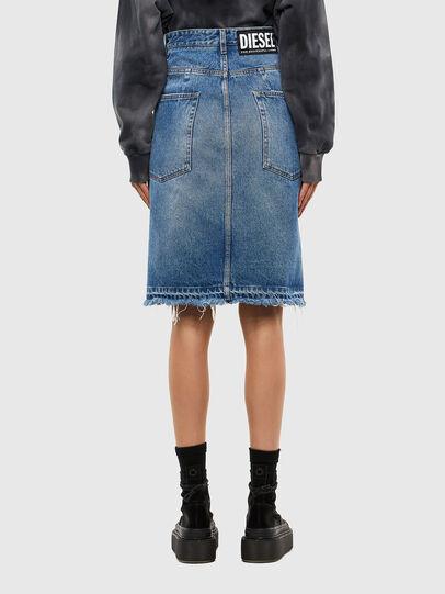 Diesel - DE-PAU-SP, Medium blue - Skirts - Image 2