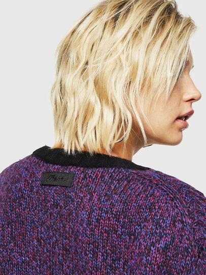 Diesel - M-TARTANN, Violet - Knitwear - Image 5