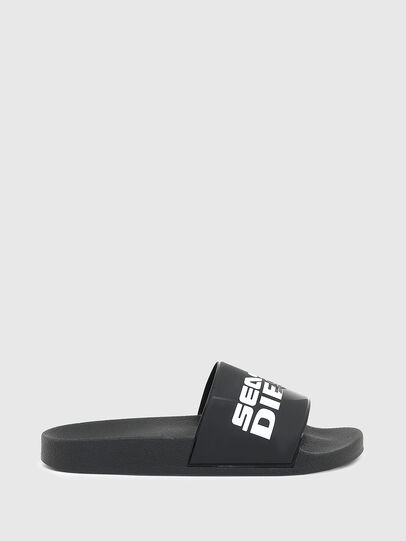 Diesel - SA-VALLA W, Dark Blue - Slippers - Image 1