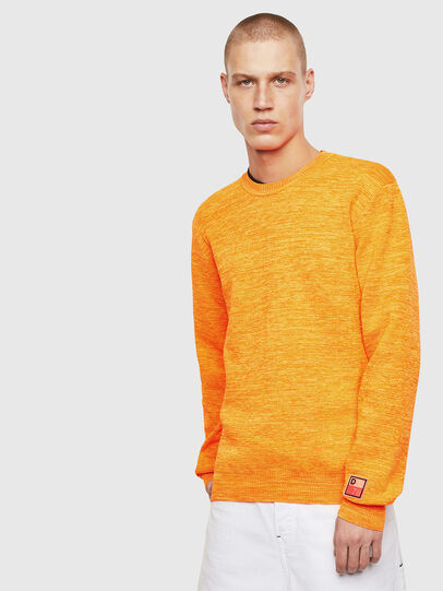 Diesel - K-SPECIALS, Orange - Knitwear - Image 1