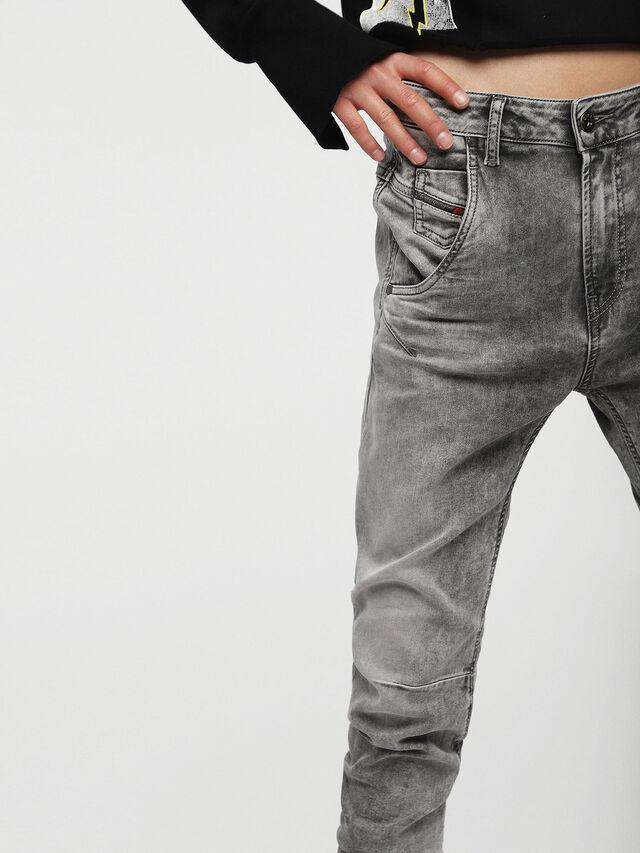 Diesel Fayza JoggJeans 0855B, Light Grey - Jeans - Image 3