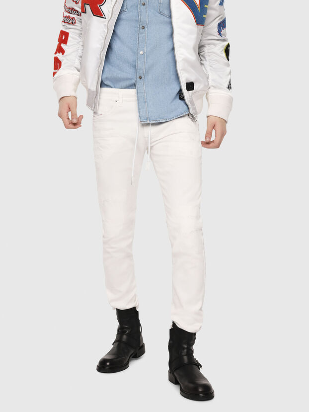 Thommer JoggJeans 069DS, White - Jeans