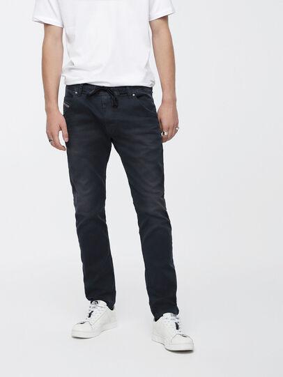 Diesel - Krooley JoggJeans 0670M, Dark Blue - Jeans - Image 1