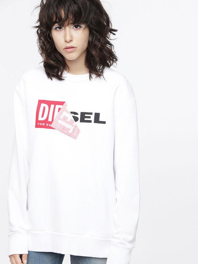 Diesel - F-SAMY-FL, White - Sweaters - Image 1