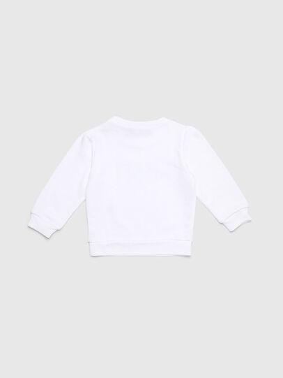 Diesel - SRALLYB-R, White - Sweaters - Image 2