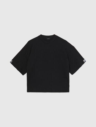 Diesel - UFTEE-SHORTEE, Black - T-Shirts - Image 1