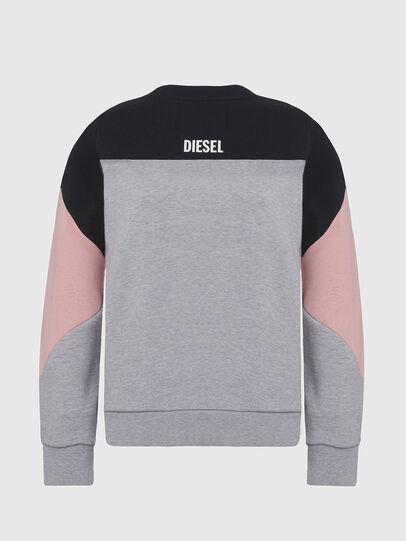 Diesel - UFLT-PHYLOSH, Gray/Black - Sweaters - Image 2
