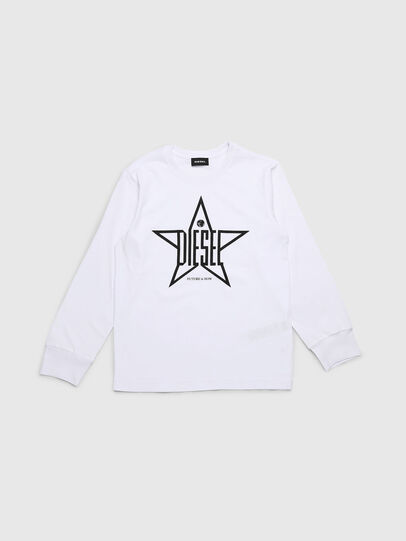Diesel - TDIEGOYH-ML, White - T-shirts and Tops - Image 1