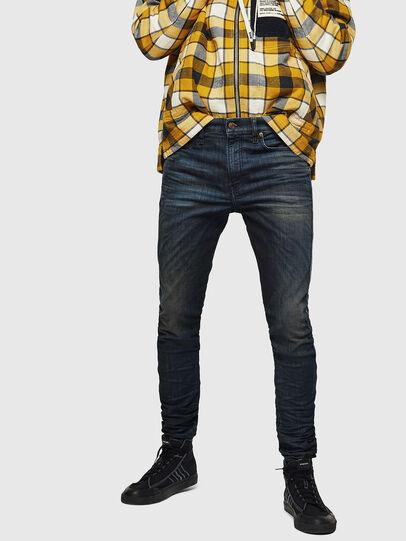 Diesel - D-Reeft JoggJeans 0870Y, Dark Blue - Jeans - Image 5