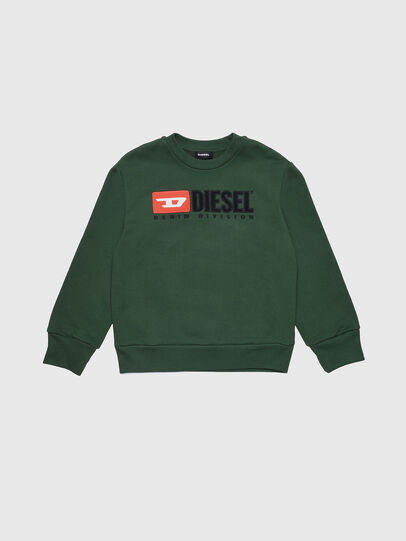 Diesel - SCREWDIVISION OVER, Bottle Green - Sweaters - Image 1