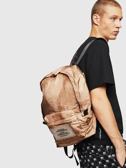 Diesel - BAPAK, Light Brown - Backpacks - Image 7