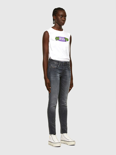 Diesel - D-Ollies JoggJeans® 069QA, Black/Dark grey - Jeans - Image 5