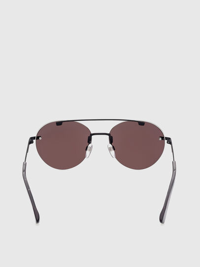 Diesel - DL0351, Black/Red - Sunglasses - Image 4