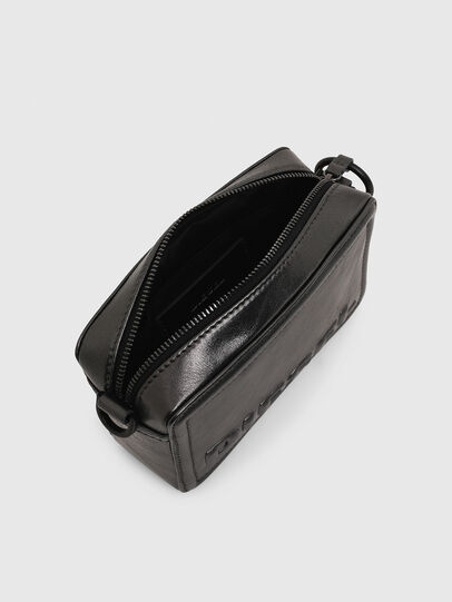 Diesel - ROSA' CNY, Silver - Crossbody Bags - Image 4