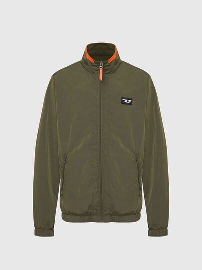 Diesel - UMLT-ROULAY-WZ, Olive Green - Jackets - Image 1