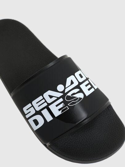 Diesel - SA-VALLA, Dark Blue - Slippers - Image 5