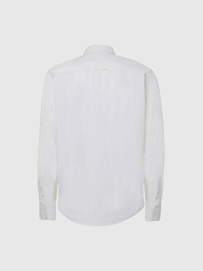 Diesel - S-ALLEN-KA, White - Shirts - Image 2