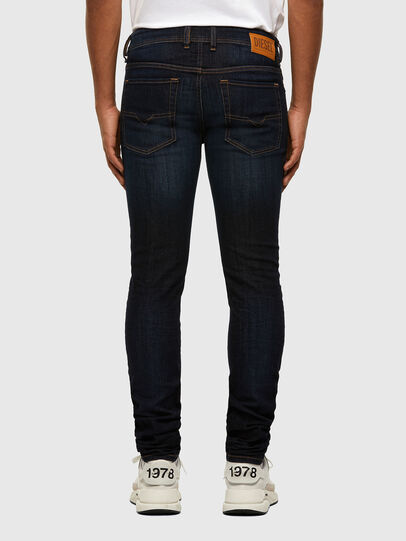 Diesel - Sleenker 009EY, Dark Blue - Jeans - Image 2