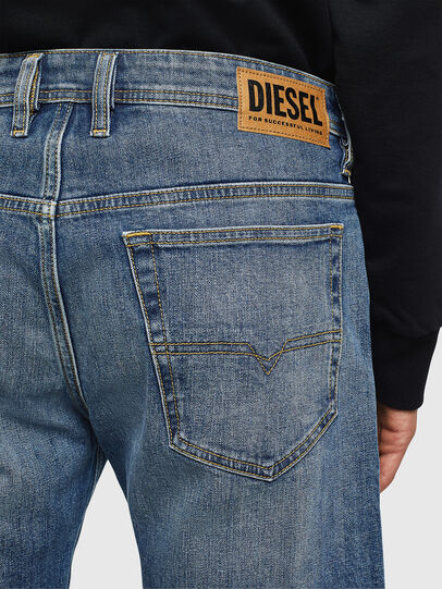 Diesel - THOSHORT, Medium blue - Shorts - Image 4