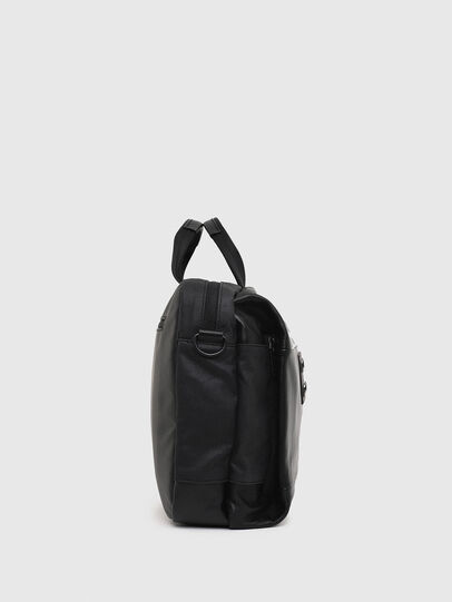 Diesel - D-SUBTORYAL BRIEF, Black - Briefcases - Image 3