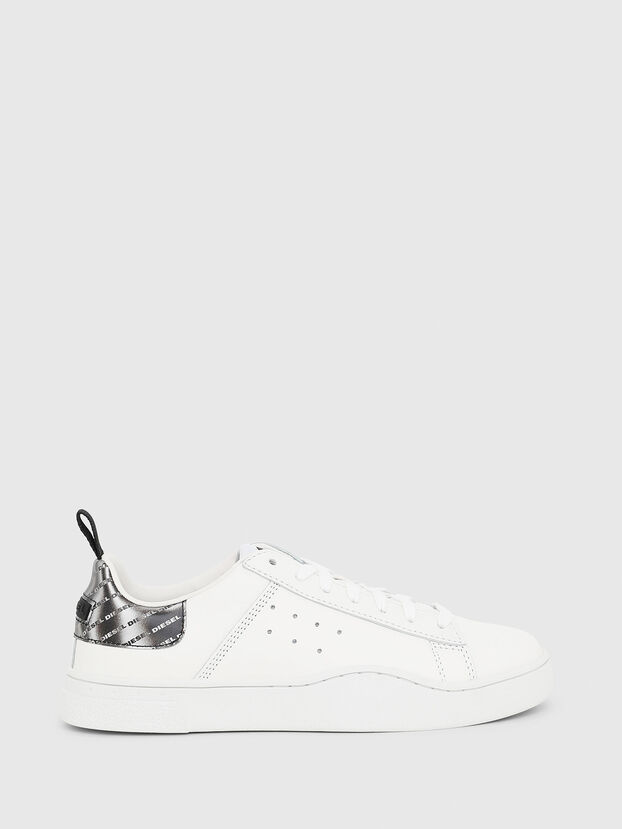 S-CLEVER LOW W, White/Silver - Sneakers