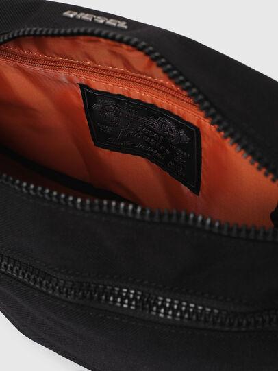 Diesel - F-URBHANITY BUMBAG, Black - Belt bags - Image 6