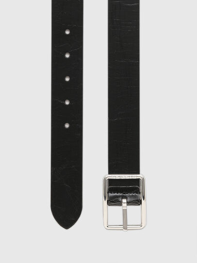 Diesel - B-PHOTO, Black/Brown - Belts - Image 3