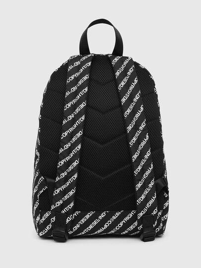 Diesel - MIRANO, Black/White - Backpacks - Image 2