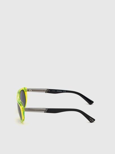 Diesel - DL0306, Yellow Fluo - Kid Eyewear - Image 3