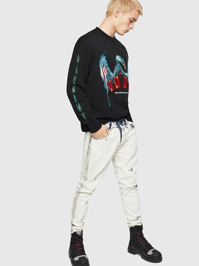 Diesel - S-BAY-EMB, Black - Sweaters - Image 5
