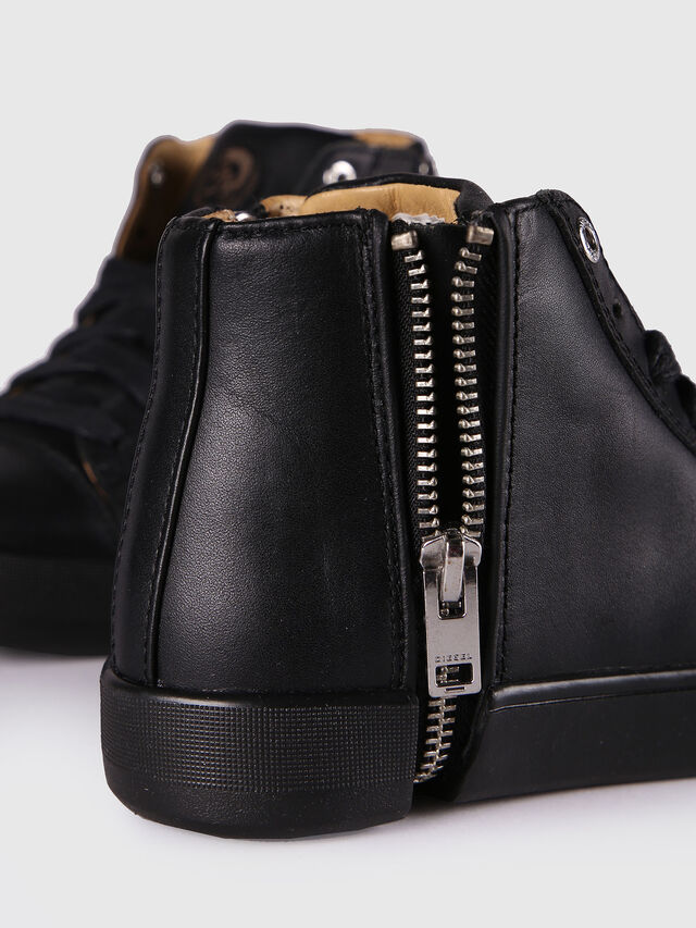 Diesel - SN MID 24 NETISH CH, Black - Footwear - Image 5