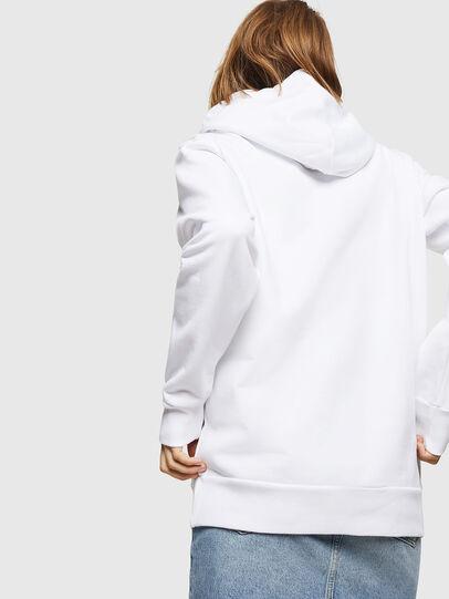 Diesel - F-GIR-HOOD-DIVISION-, White - Sweaters - Image 2