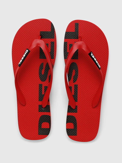 Diesel - SA-BRIIAN, Red - Slippers - Image 4