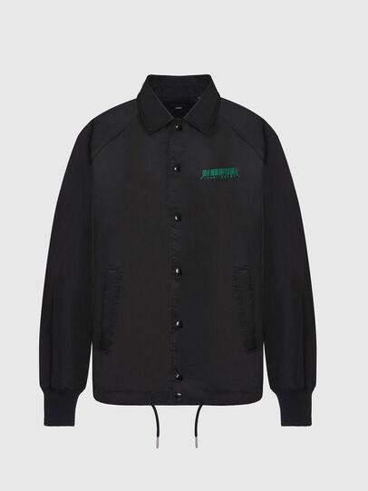 Diesel - J-AKIO-B, Black - Jackets - Image 1