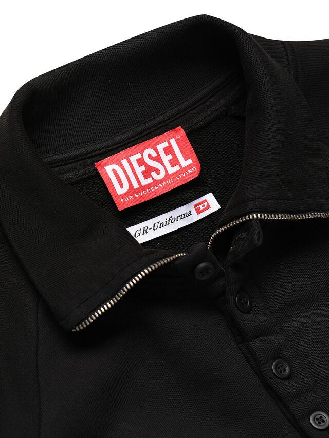 Diesel - GR02-T302, Black - Sweatshirts - Image 3