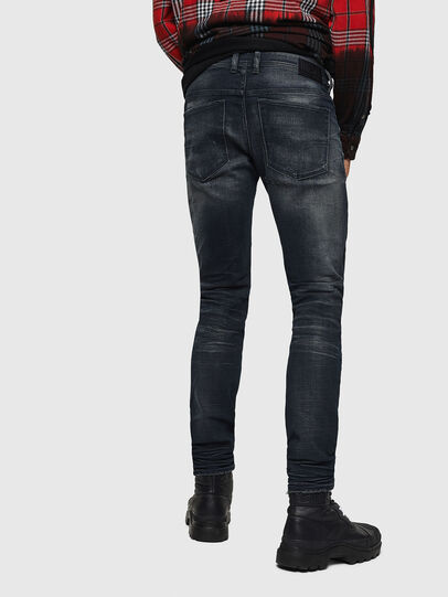 Diesel - Sleenker 0870J, Black/Dark grey - Jeans - Image 2