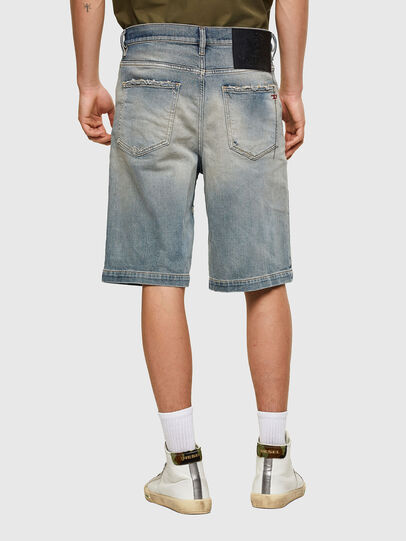 Diesel - D-MACS-SHORT, Light Blue - Shorts - Image 2