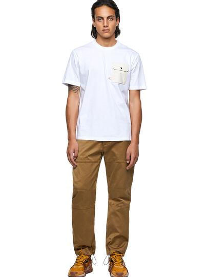 Diesel - T-JUSMER, White - T-Shirts - Image 4