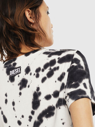 Diesel - T-SILY-S4, Black/White - T-Shirts - Image 4