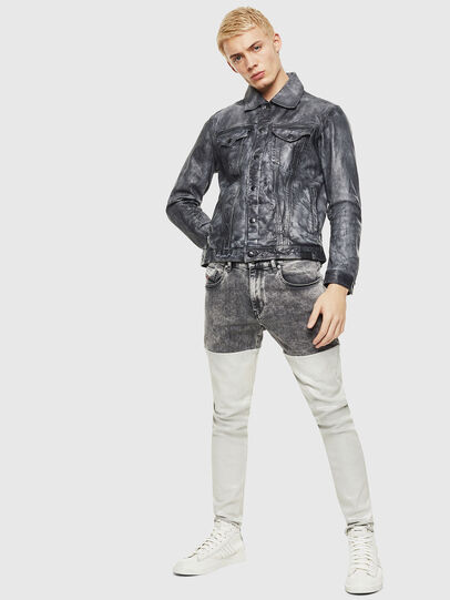 Diesel - L-NHILL, Black - Leather jackets - Image 4