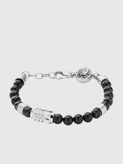 Diesel - DX0847, Black/Grey - Bracelets - Image 1