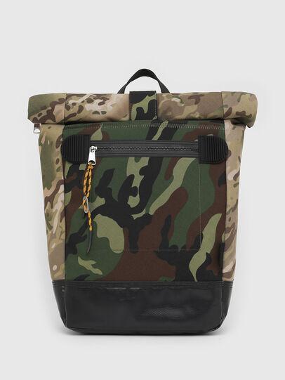 Diesel - ROLAP, Green Camouflage - Backpacks - Image 1