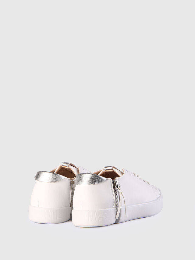 Diesel - S-NENTISH LC W, White - Sneakers - Image 2