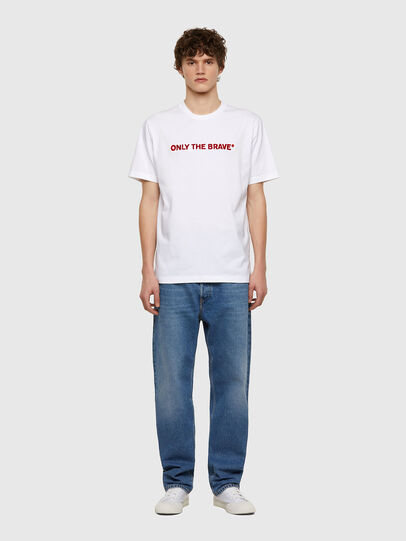 Diesel - T-JUST-E4, White - T-Shirts - Image 5