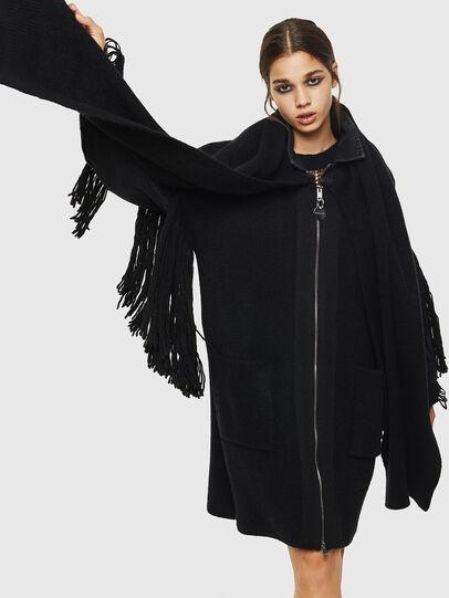 Diesel - M-BOU-B, Black - Winter Jackets - Image 4