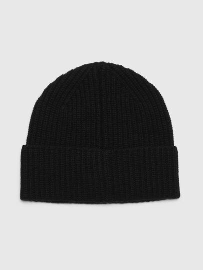 Diesel - K-LORO, Black - Knit caps - Image 2